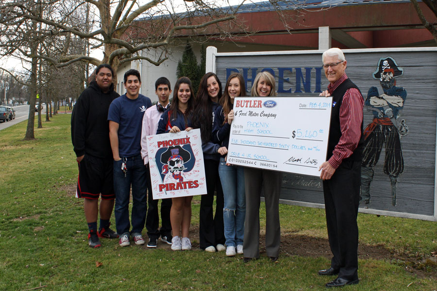 Phoenix High FEb 2014 check presentation
