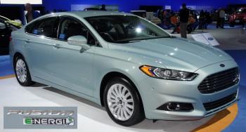 2013 Ford Fusion Energi SEL plug-in hybrid